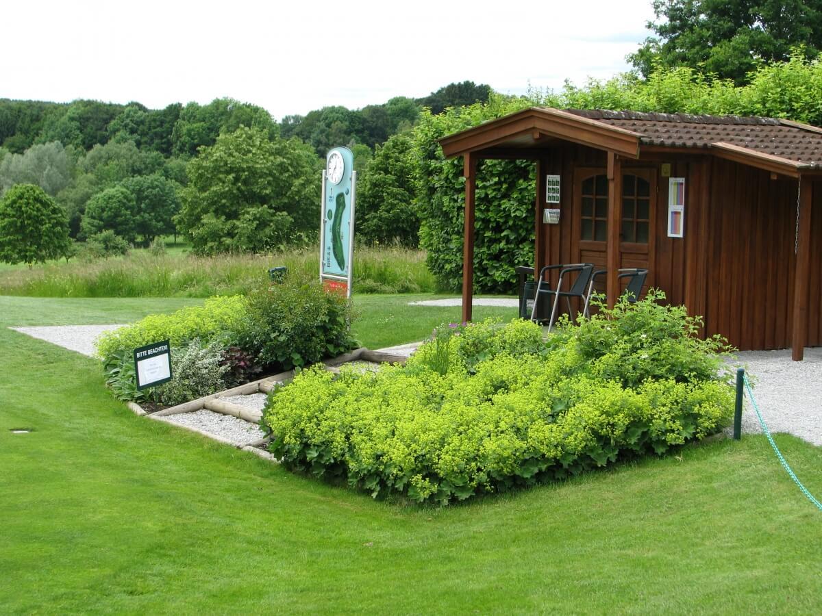 Golf-Club Ebersberg 18-Loch Anlage Loch 1