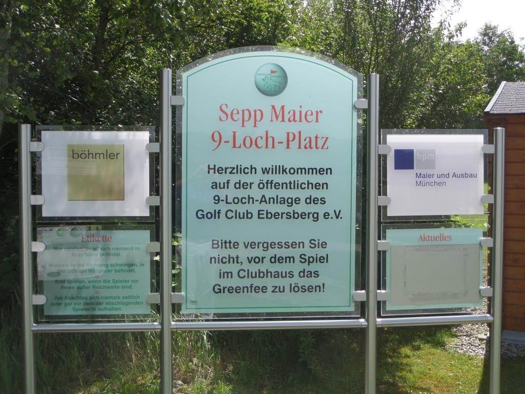 Golf-Club Ebersberg 9-Loch Platz