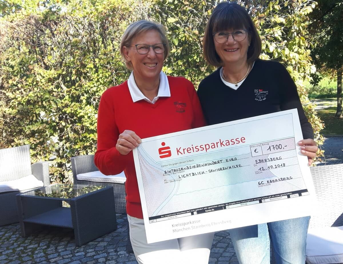 Golf-Club Ebersberg Spende ChariTee